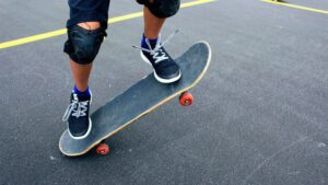 Skateboard beschermkleding