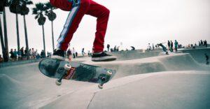 Ontwinkkeling van het skateboarden